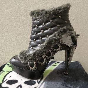 HADES Shoes - HADES STEAMPUNK ANKLE BOOTS